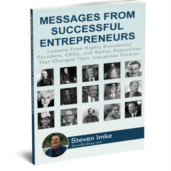 Messages from Entrepreneurs 3d cover