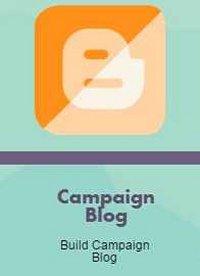 Campaign Blog