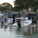 Busy Boat Ramp