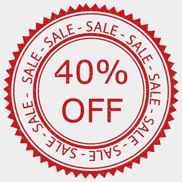 Sale 40% off