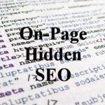 On-Page Hidden SEO