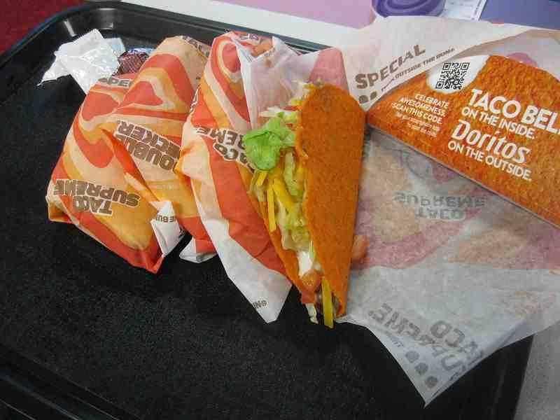 Taco Bell and Doritos